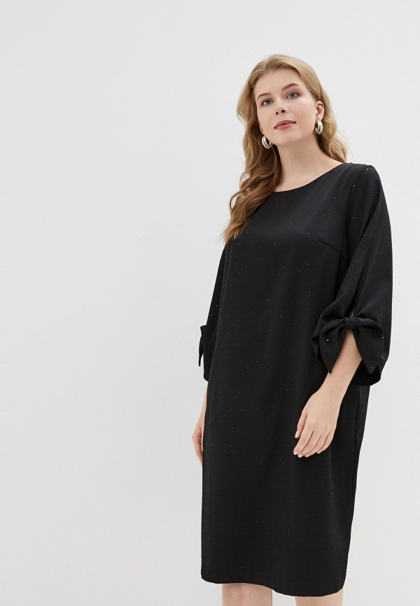женское платье montebella style, черное