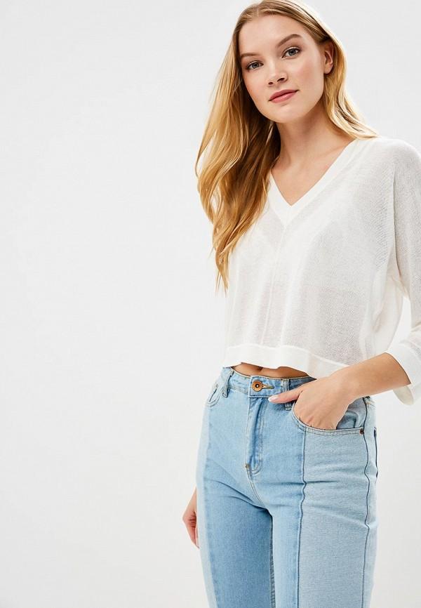 женский пуловер incity, белый