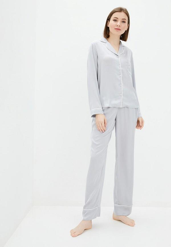 женская пижама natalia bas, серая