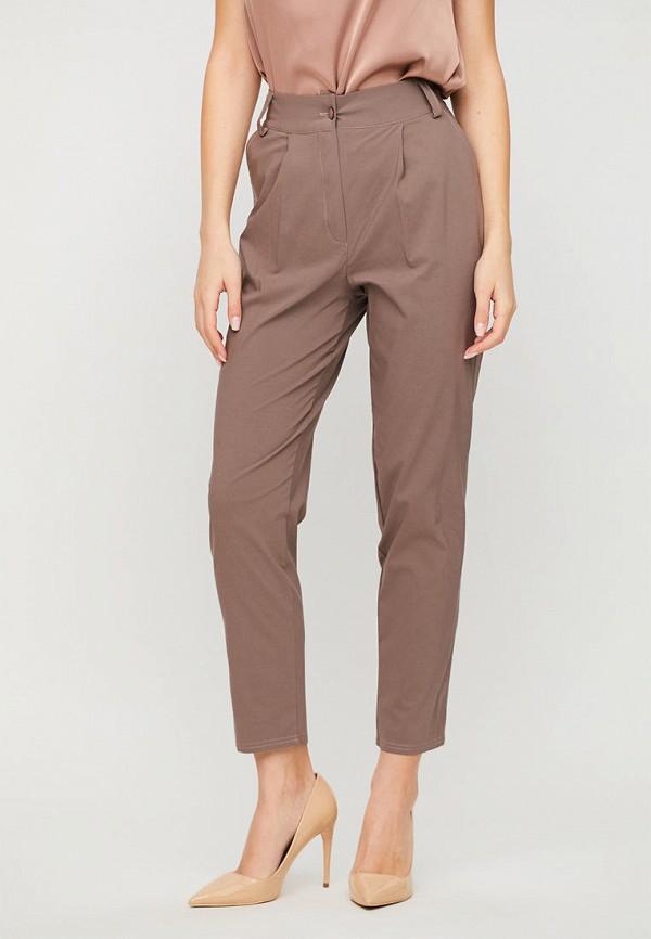 женские повседневные брюки karree, коричневые