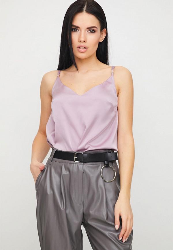 женский топ karree, фиолетовый