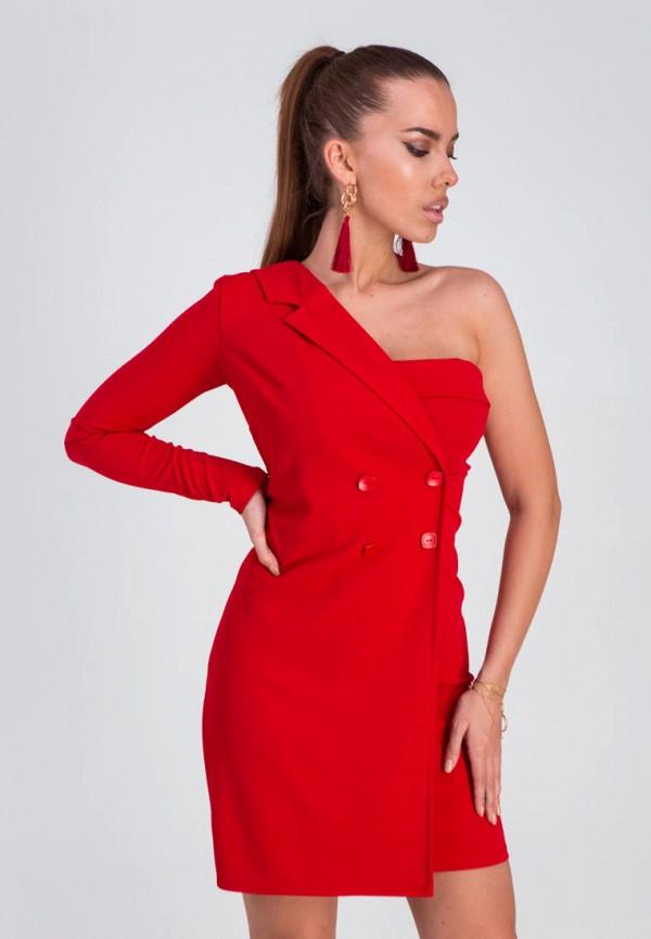 женское платье karree, красное