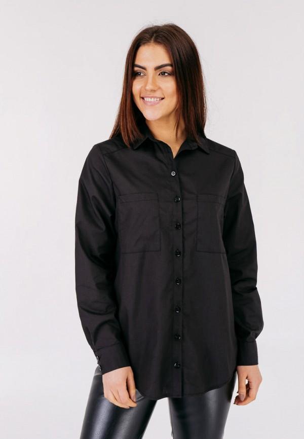 женская блузка bessa, черная