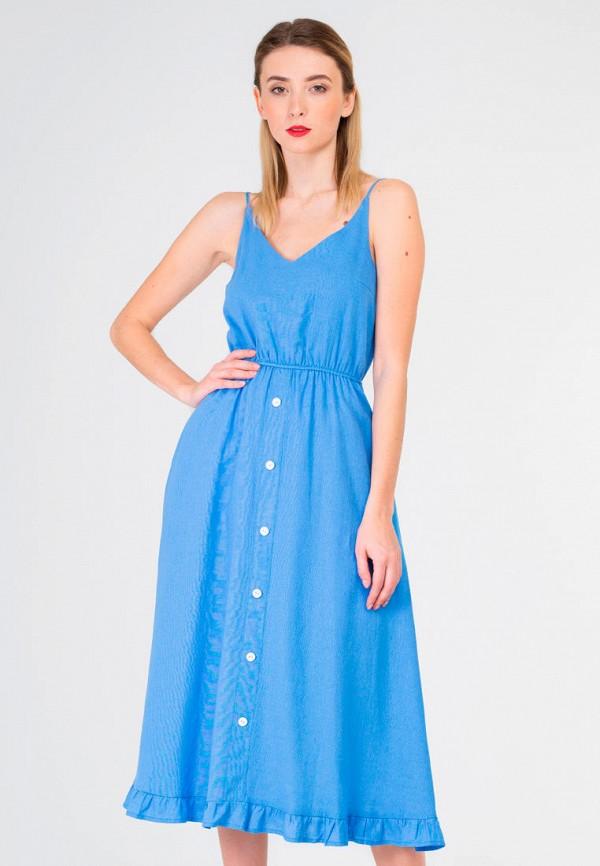 женский сарафан shtoyko, голубой