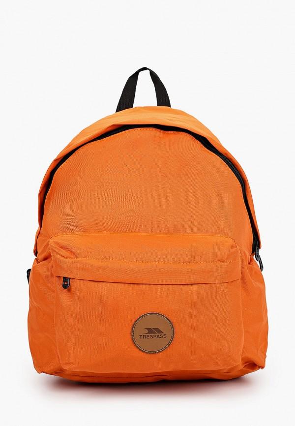 женский рюкзак trespass, оранжевый