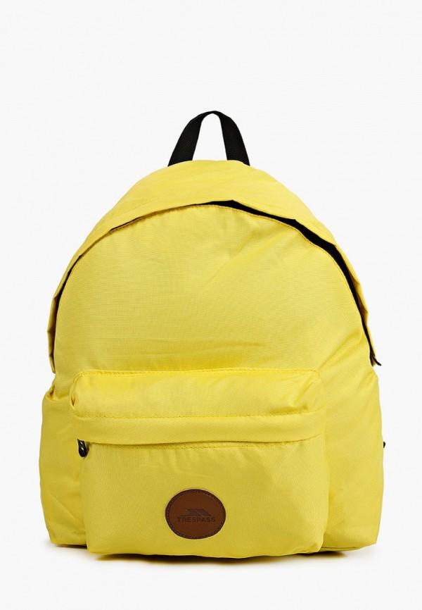 женский рюкзак trespass, желтый