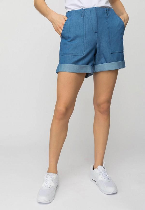 женские повседневные шорты gloss, синие