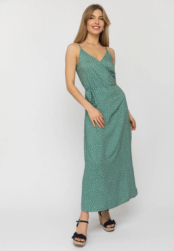 женский сарафан gloss, зеленый