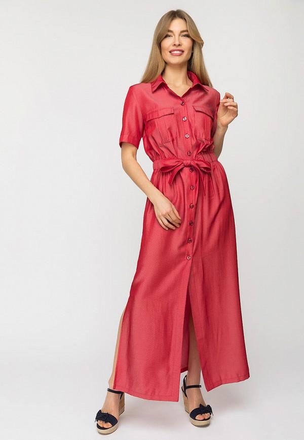 женское платье-рубашки gloss, красное
