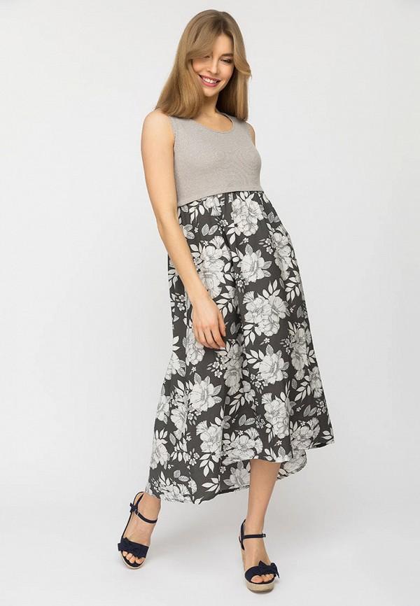 женское повседневные платье gloss, серое