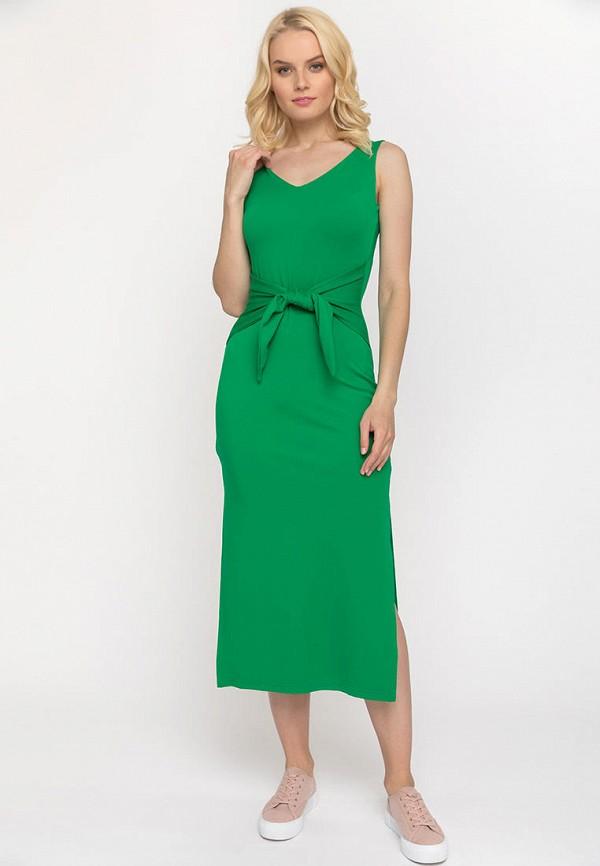 женское повседневные платье gloss, зеленое