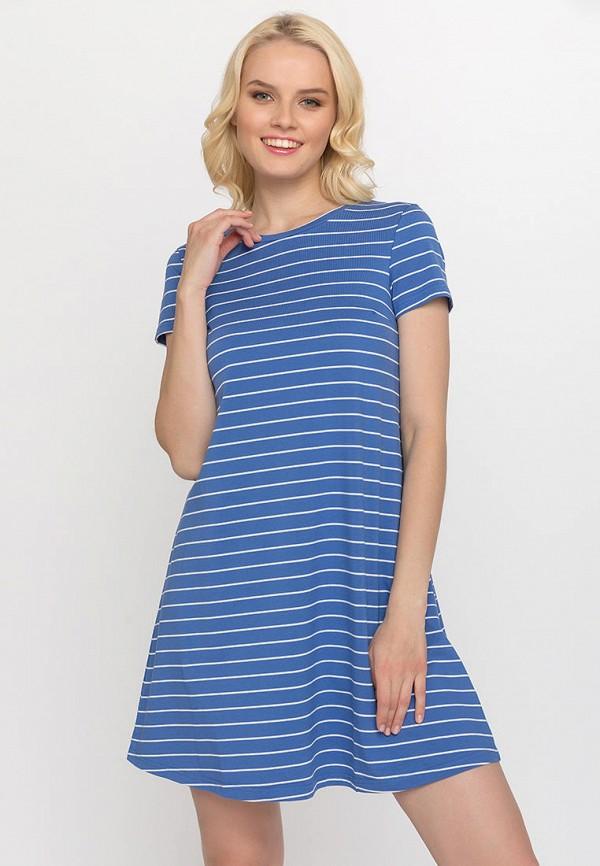 женское платье-футболки gloss, синее