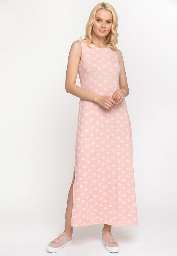 женское платье gloss, розовое