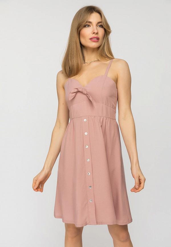 женский сарафан gloss, розовый