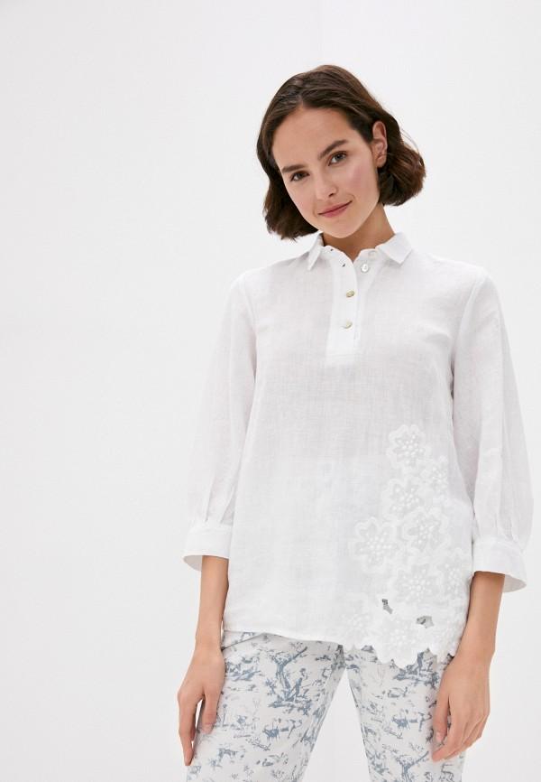 Блуза Agenda цвет белый