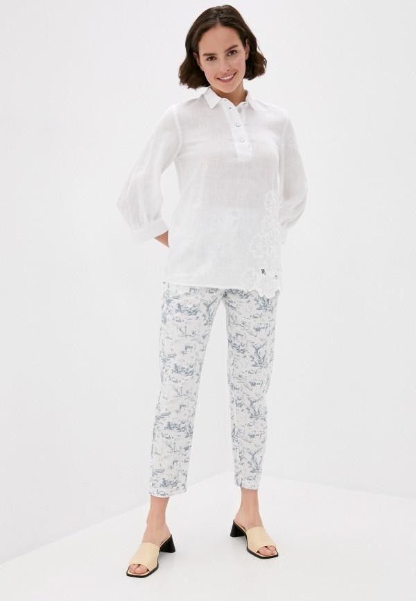 Блуза Agenda цвет белый  Фото 2