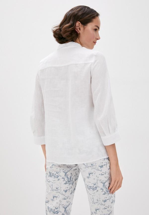 Блуза Agenda цвет белый  Фото 3