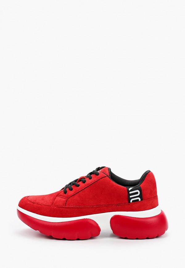 женские низкие кроссовки dino ricci, красные