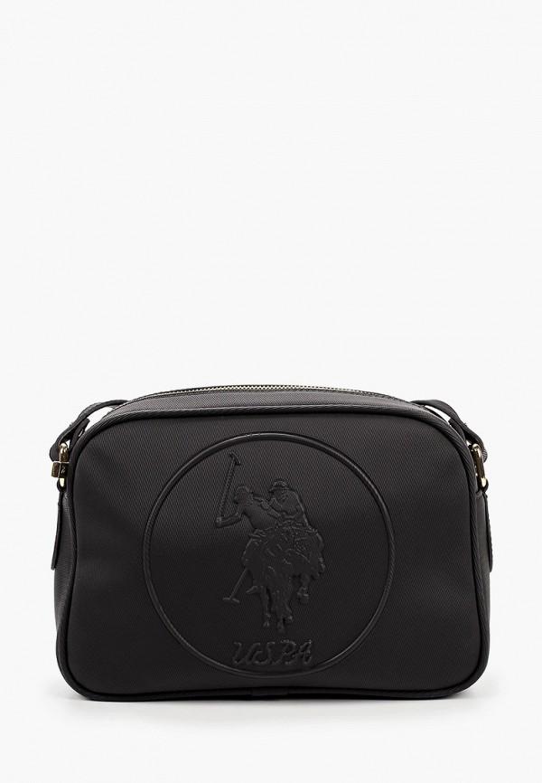 женский рюкзак u.s. polo assn, серый