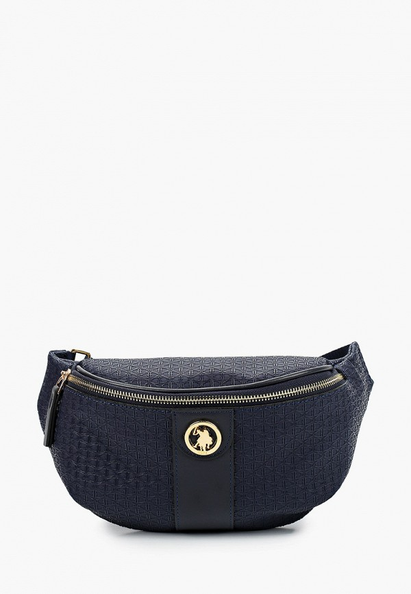 женская поясные сумка u.s. polo assn, синяя