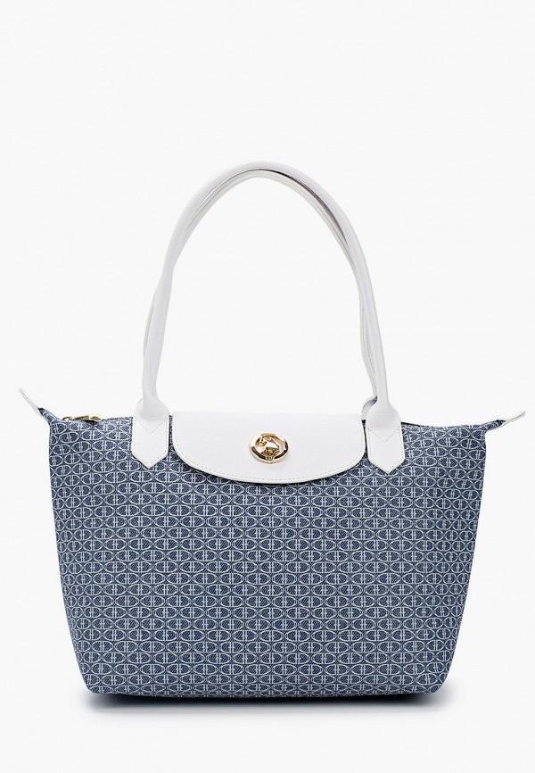 женская сумка с ручками u.s. polo assn, голубая