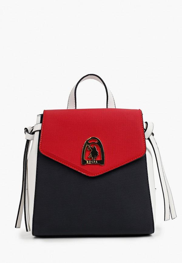 женский рюкзак u.s. polo assn, разноцветный