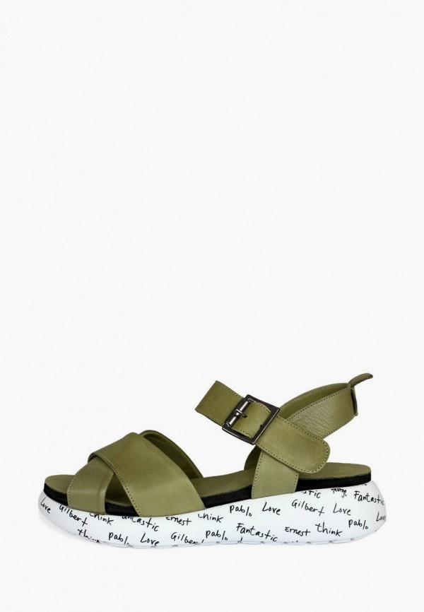 женские сандалии pera donna, хаки