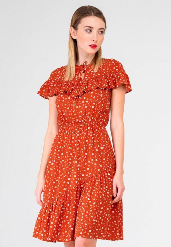 женское повседневные платье shtoyko, красное