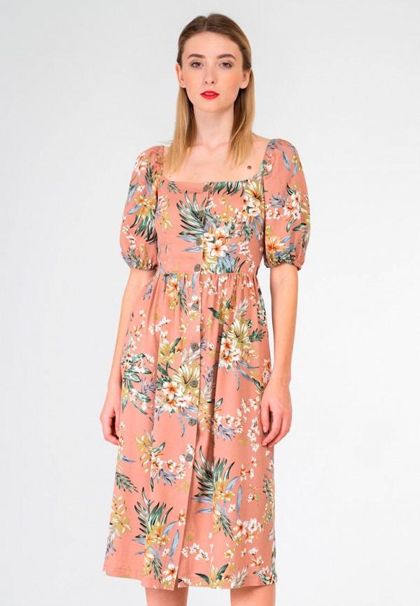 женское повседневные платье shtoyko, бежевое