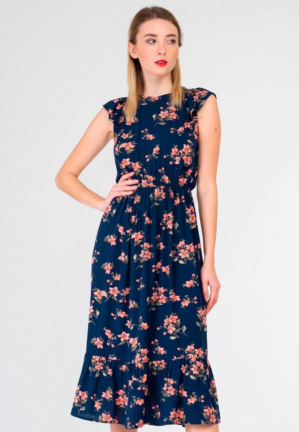 женское повседневные платье shtoyko, синее