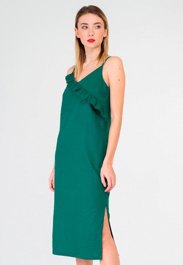 женское повседневные платье shtoyko, зеленое