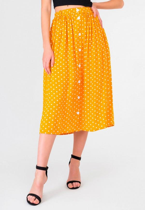 женская юбка shtoyko, желтая