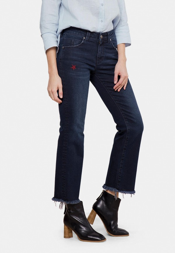 женские джинсы клеш mr520, синие