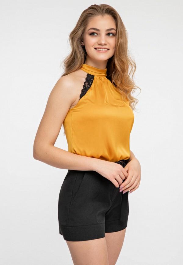 женская блузка itelle, золотая