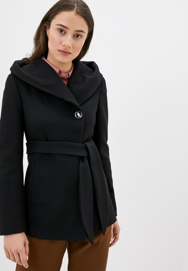 женское пальто karolina, черное