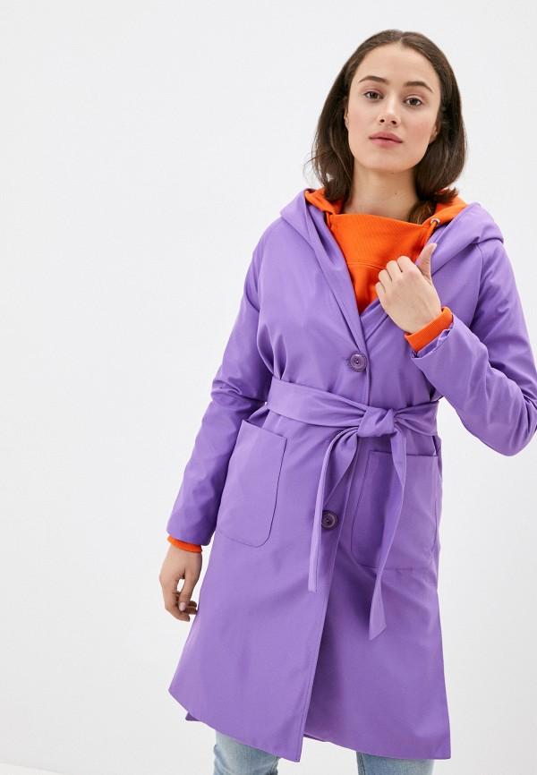женский плащ karolina, фиолетовый