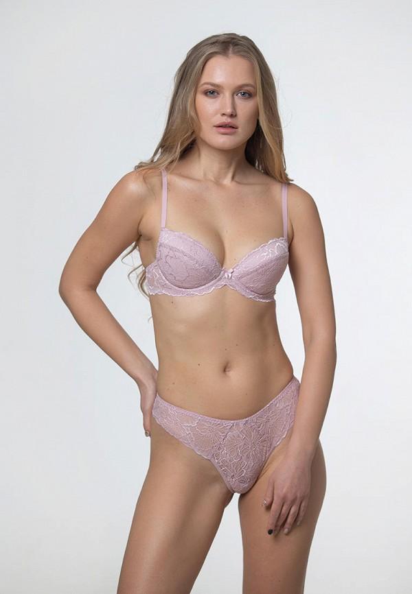 женский бюстгальтер push-up texaleksa, розовый