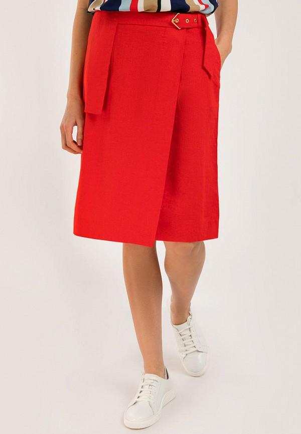 Юбка Finn Flare красного цвета