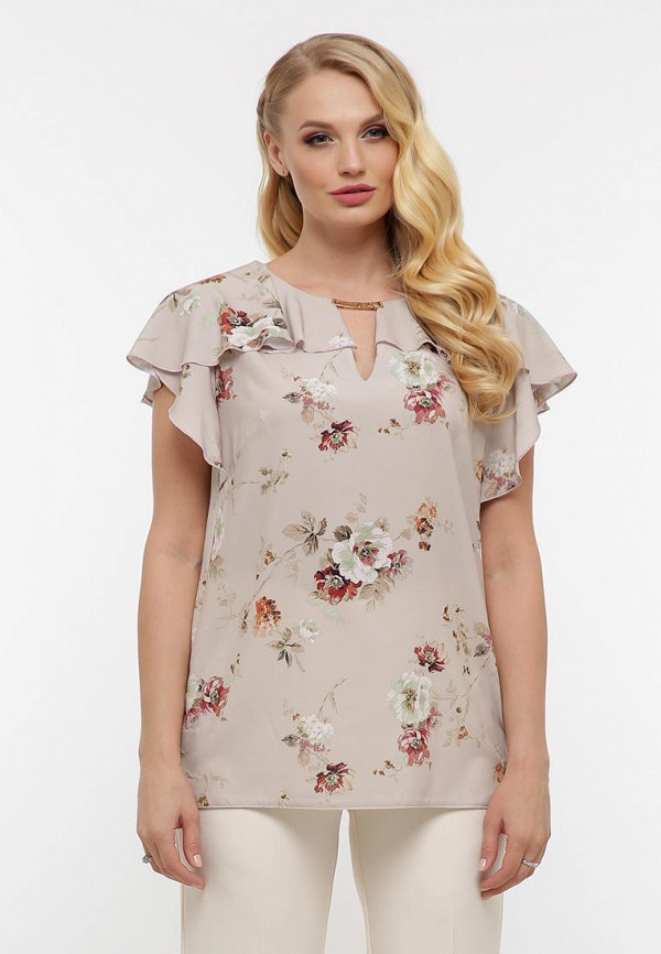 женская блузка vlavi, бежевая
