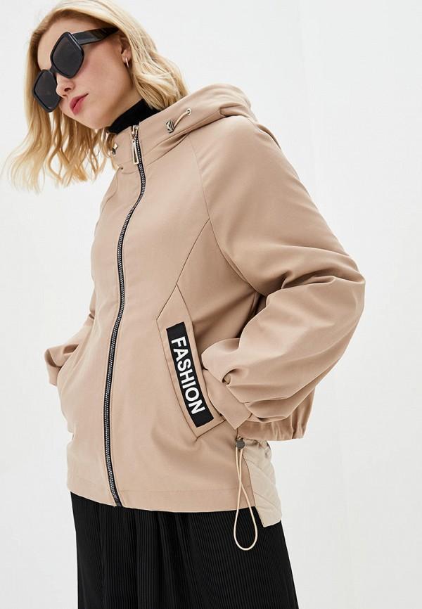 женская куртка modniy oazis, бежевая