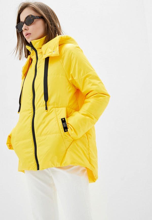 женская куртка modniy oazis, желтая