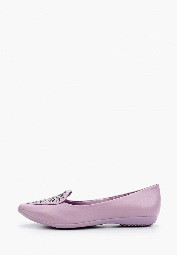 женские балетки bottero, фиолетовые