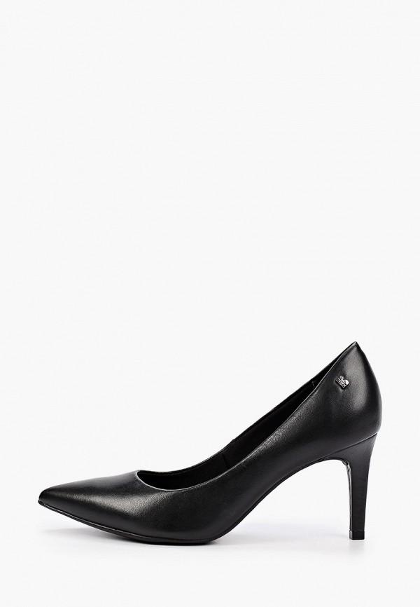 женские туфли-лодочки bottero, черные