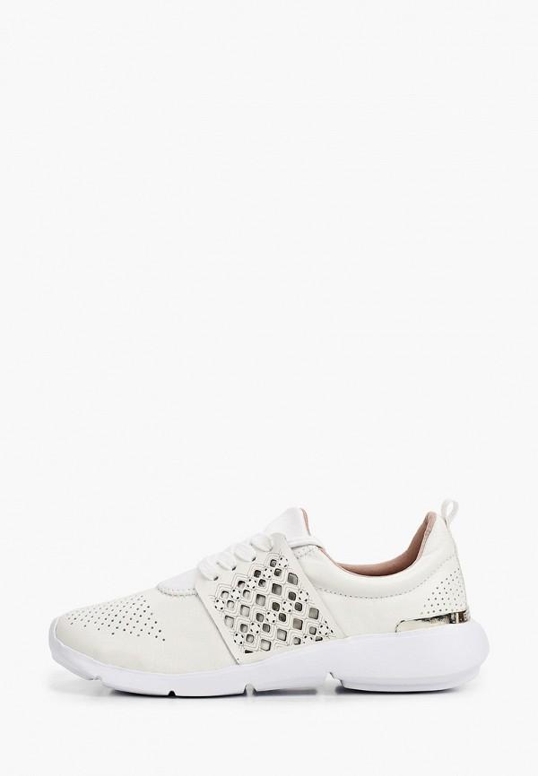 женские низкие кроссовки bottero, белые
