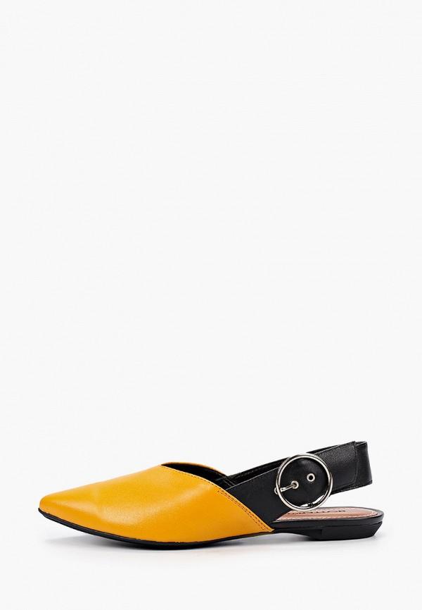 женские туфли bottero, желтые