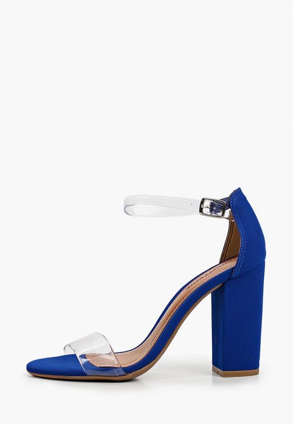 женские босоножки bottero, синие