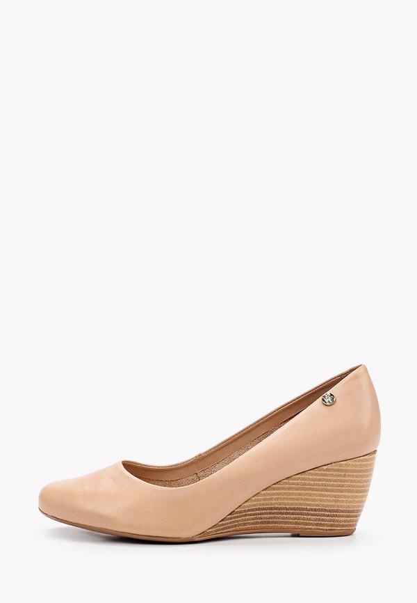 женские туфли с закрытым носом bottero, бежевые