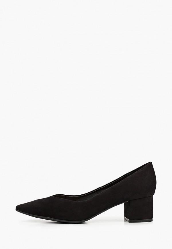 женские туфли с закрытым носом bottero, черные