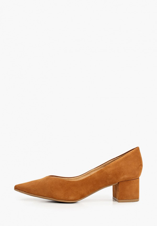 женские туфли с закрытым носом bottero, коричневые