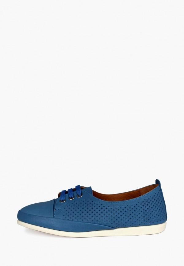 женские ботинки blizzarini, синие